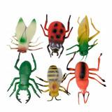Set figurine - insecte mari  de jucarie pentru copii,6 piese