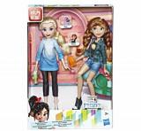 Set papusi Disney Princess Comfy II - Anna si Elsa