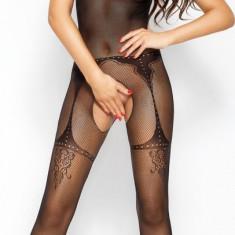 Catsuit Bella OS negru