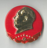 Insigna Personalitati - Dictator - Lider politic - MAO - China