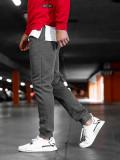 Pantaloni de trening grafit Bolf XW01-B