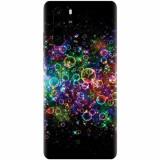 Husa silicon pentru Huawei P30 Pro, Rainbow Colored Soap Bubbles