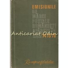Emisiunile De Marci Postale Romanesti Aparute In Anii '74, '75, '76