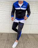 Treninguri barbati, L/XL, Albastru, EA7 Emporio Armani