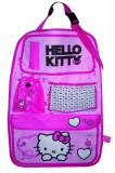 Organizator scaun auto Hello Kitty pentru spatarul scaunului din fata, 40 x 60 cm, Pentru scaun