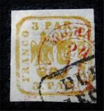 Romania 1862 - Principatele Unite,Lp.8, Stampilat