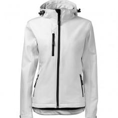 Jachetă softshell pentru damă, S/M, Alb