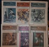 CHENDI ILARIE & LOCUSTEANU P., MINERVA LITERARA ILUSTRATA (Revista Literara Saptamanala), Anul I (22 Numere !!!), 1909-1910, Bucuresti