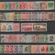 Wurttemberg - Lot timbre vechi