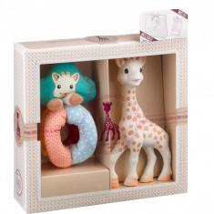 Set cadou Girafa Sophie si zornaitoare cu bile - Vulli