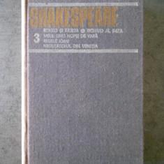 SHAKESPEARE - OPERE volumul 3 (1984, editie cartonata)