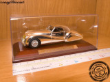 ALFA ROMEO 6C 2500SS SILVER PLATED, 1:43