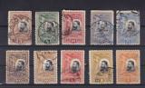 ROMANIA 1906 LP 61  CAROL  I  25  ANI PROCLAMAREA REGATULUI   SERIE  STAMPILATA, Stampilat