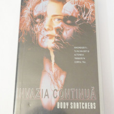 Caseta video VHS originala film tradus Ro - Invazia Continua