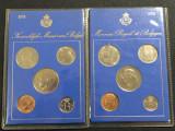 Cumpara ieftin Belgia 25 50 centi 1 5 10 franci 1974 ambele variante FR NL, Europa