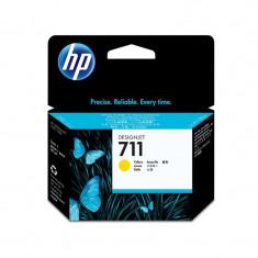 Cartus original cerneala HP 711 CZ132A, Yellow, 29 ml