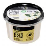 Cumpara ieftin Masca pentru par cu Iasomie Indiana si Ulei de Jojoba, Organic Shop Hair Mask, Ingrediente 98.67% Naturale, 250 ml