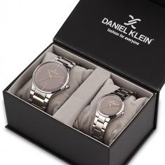 Set ceasuri pentru dama si barbati, Daniel Klein Pair, DK11784-4P