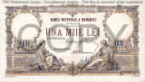 REPRODUCERE  bancnota  1000 lei 1933