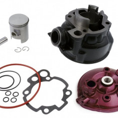 Kit Cilindru Set Motor + Chiuloasa Scuter Peugeot Pejo XR6 - 49cc - 50cc - APA