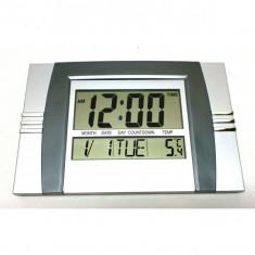 Ceas perete termometru calendar