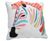Perna decorativa Zebre Colore 40x40 cm - Korb, Multicolor