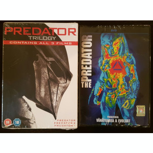 Filme Predator 1-4 DVD Complete Collection
