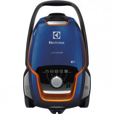 Aspirator cu sac Electrolux EUO93DB, 700W, filtru Allergy Plus, Albastru