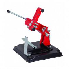 Stand cu masa pentru polizor Raider, 115 mm, unghi taiere reglabil