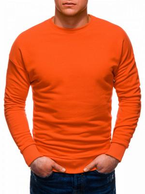 Bluza barbati B1229 - portocaliu foto