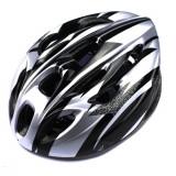 Casca protectie universala + vizor inclus, culoare argintie, model CBS05