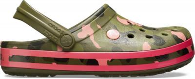 Saboți Adulti Unisex casual Crocs Crocband Seasonal Graphic Clog foto