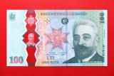 ROMANIA  -  100 Lei 2019  -  Desăvârșirea Marii Uniri – Ion I.C. Brătianu  - UNC