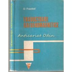Traductoare Galvanomagnetice - D. Frankel