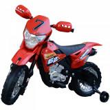 Homcom Motoreta MotoCross Electrica pentru Copii, Rosu, 107x53x70cm