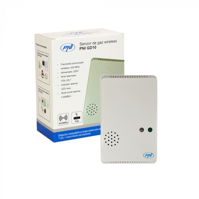 Resigilat : Senzor de gaz wireless PNI GD10