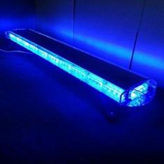Rampa girofar LED 120cm 12V albastru V8400
