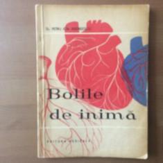 bolile de inima dr petru ion andreescu carte medicina editura medicala 1962 RPR