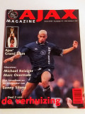 "Revista Fotbal - AJAX AMSTERDAM ""Magazine"" (nr.6 sezonul 1995/1996)"