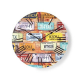 Ceas de perete Nedis Travel, 30 cm, pentru bucatarie sau living, lemn Mania Tools
