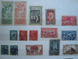 Timbre Franta Jocuri Olimpice, monumene si colonii