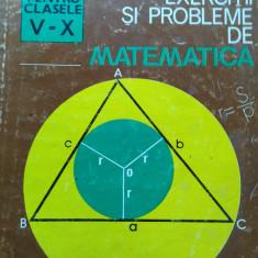 GRIGORE GHEBA & COLAB - EXERCIȚII ȘI PROBLEME DE MATEMATICA PENTRU CLASELE V-X