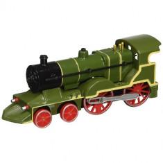 Locomotiva Clasica cu Sunete si Lumini Verde