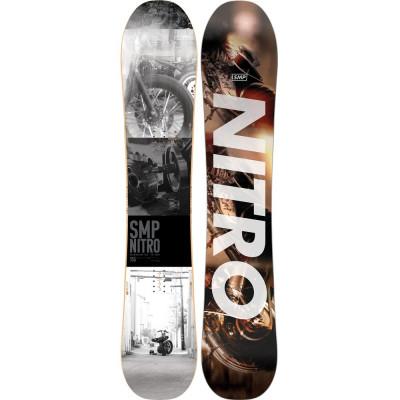 Placa Snowboard Nitro SMP 155 2020 foto