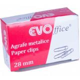 Cumpara ieftin Agrafe Metalice EVOffice 28 mm, 100 Buc/Bax - Clipsuri Hartie