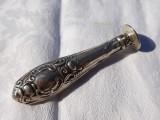 SIGILIU argint FRANTA 1900 art nouveau SPLENDID de colectie PATINA MINUNATA