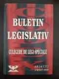 BULETIN LEGISLATIV CULEGERE DE LEGI SPECIALE - Crisu