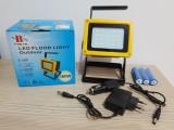 Proiector LED cu Acumulator 100W - 110 lei