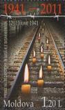 MOLDOVA 2011, Deportari, serie neuzata, MNH, Nestampilat