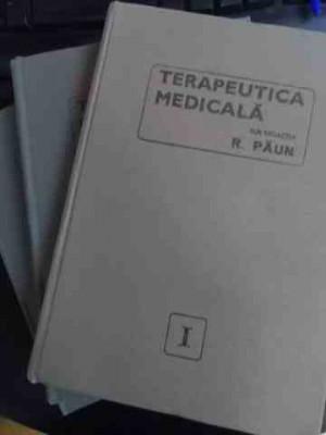 Terapeutica Medicala Vol.1-3 - Sub Redactia R. Paun ,547025 foto